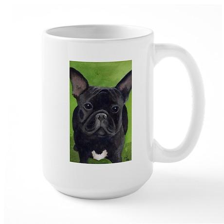 French Bully Large Mug