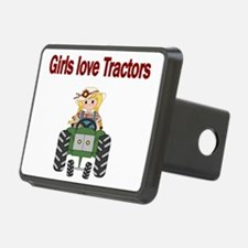 Girls love Tractors Hitch Cover