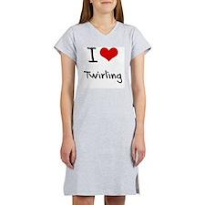 I love Twirling Women's Nightshirt