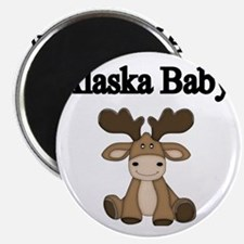 Alaska Baby Magnet