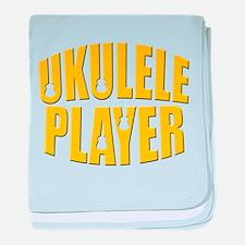 ukulele uke player baby blanket