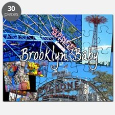 Coney Island Bklyn Baby Puzzle