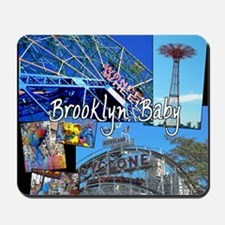 Coney Island Bklyn Baby Mousepad