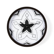 Mescalero Apache Mofits Wall Clock