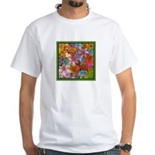 Cat Among the Flowers Shirt