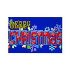 Merry Christmas Loudly Magnets