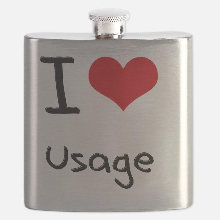 I love Usage Flask