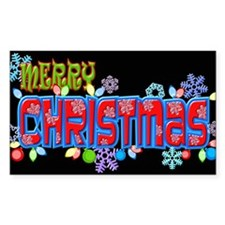 Merry Christmas Loudly Decal