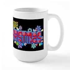 Merry Christmas Loudly Mugs