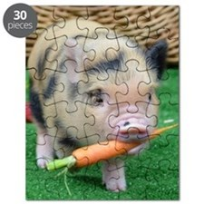 Micro pig with carrot Puzzle