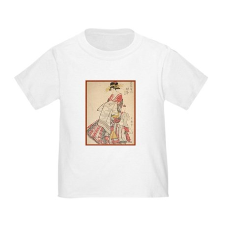 Japanese print Toddler T-Shirt