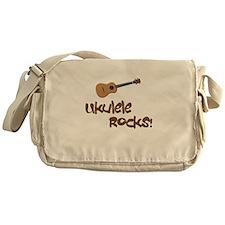 ukulele uke funny ukele design Messenger Bag