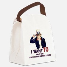 I can't handle another 4 years Canvas Lunch Bag