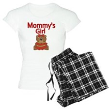 Mommys gir with Cute Teddy  Pajamas