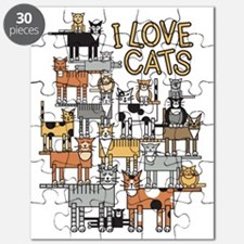 I LOVE CATS Puzzle