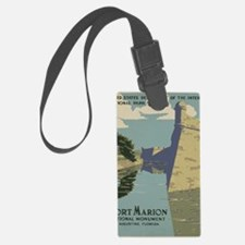 St. Augustine Spanish Fort Casti Luggage Tag