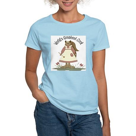 World's Greatest Cook Women's Light T-Shirt