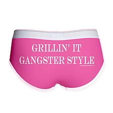 Grillin it gangster style Women's Boy Brief