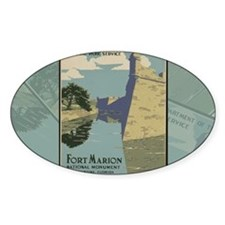 St. Augustine Spanish Fort Marion C Decal