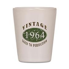 Vintage 1964 Birthday (Green) Shot Glass