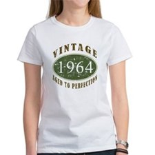 Vintage 1964 Birthday (Green) Tee