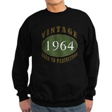 Vintage 1964 Birthday (Green) Sweatshirt