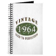 Vintage 1964 Birthday (Green) Journal