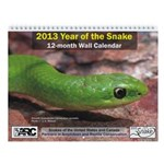 2013 Year of the Snake (US/Canada) Wall Calendar