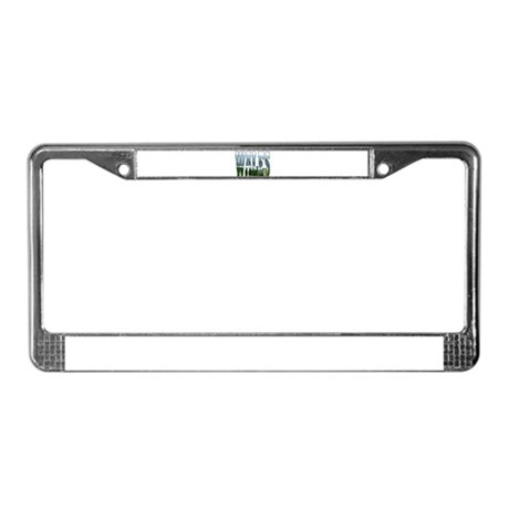 ...Scenic Wales... License Plate Frame