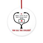 American Healthcare Keepsake Ornament (Round)