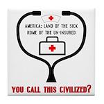 American Healthcare Tile Drink Coaster