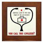 American Healthcare Tile (Framed)