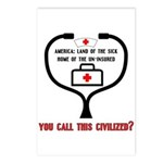 American Healthcare Postcards (8 pk)
