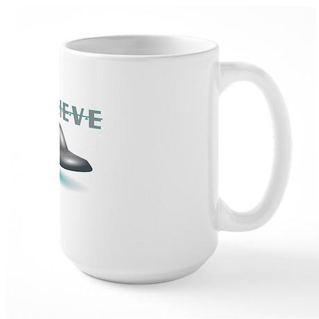 I Believe Large Mug