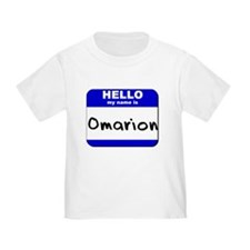 hello my name is omarion T