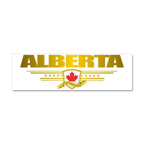 Alberta Car Magnet 10 x 3