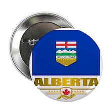 "Alberta Flag 2.25"" Button"