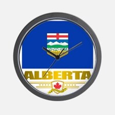 Alberta Flag Wall Clock