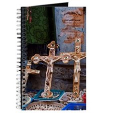 Olive Wood Crosses Journal