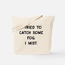 Weather Pun Tote Bag