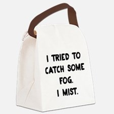 Weather Pun Canvas Lunch Bag