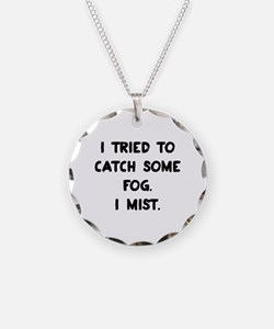 Weather Pun Necklace