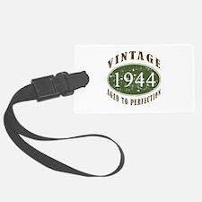 Vintage 1944 Birthday (Green) Luggage Tag