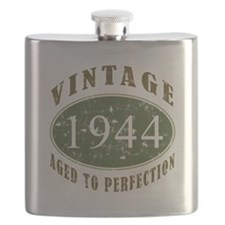 Vintage 1944 Birthday (Green) Flask