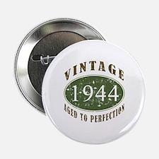 """Vintage 1944 Birthday (Green) 2.25"""" Button"""