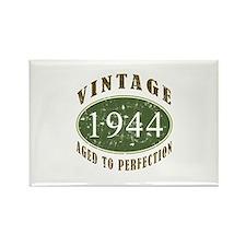 Vintage 1944 Birthday (Green) Rectangle Magnet