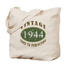 Vintage 1944 Birthday (Green) Tote Bag