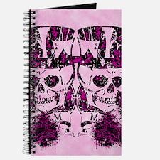 Grunge Skull and Spade Journal