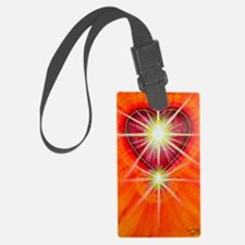 Love is Light Luggage Tag