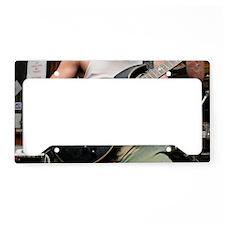 Fireplant Guitars: electric g License Plate Holder